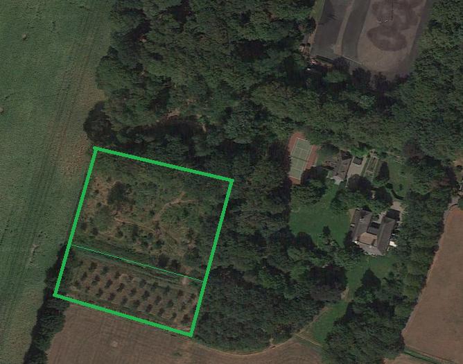 locatie de groote wijngaard in omgeving_google earth foto